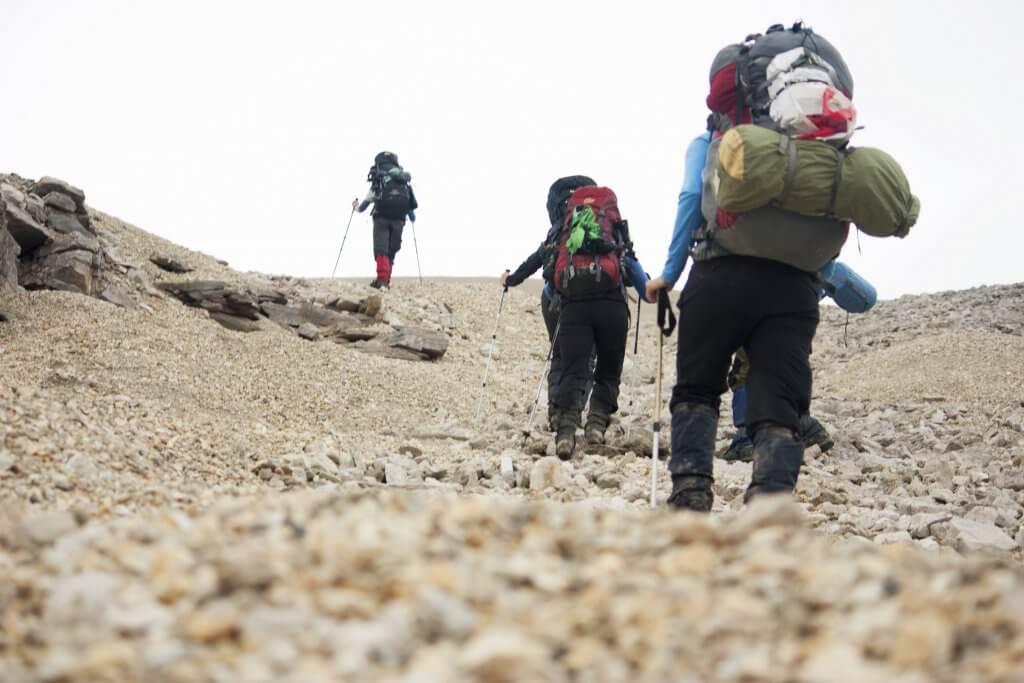 Wandelvakantie hiken spitsbergen Noorwegen