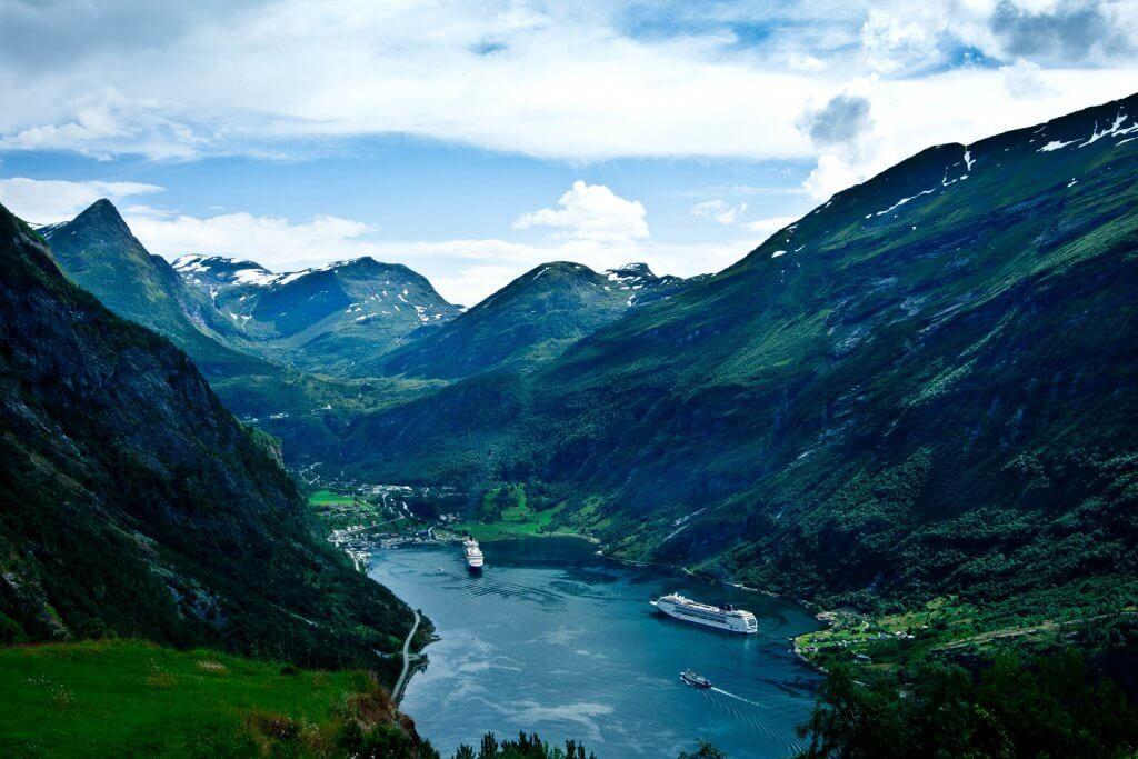 Fly Drive Noorwegen boeken - Geiranger fjord