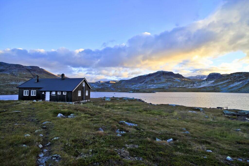 Hardangervidda Noorwegen - Camperroute