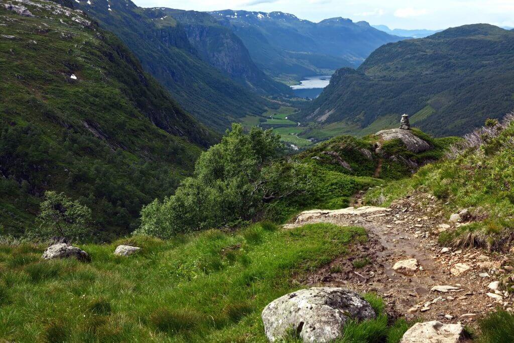 Huttentocht Noorwegen - Wandelen