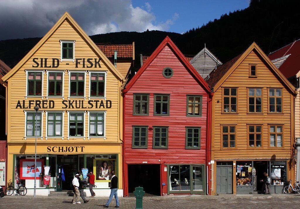 Vakantie Bergen Noorwegen