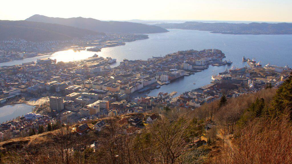 Vakantie naar Bergen Noorwegen - Bryggen