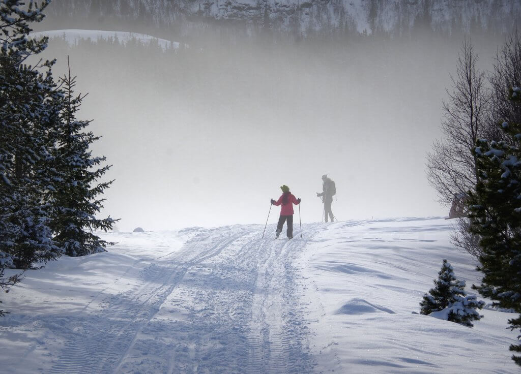 Wintersport Noorwegen skien