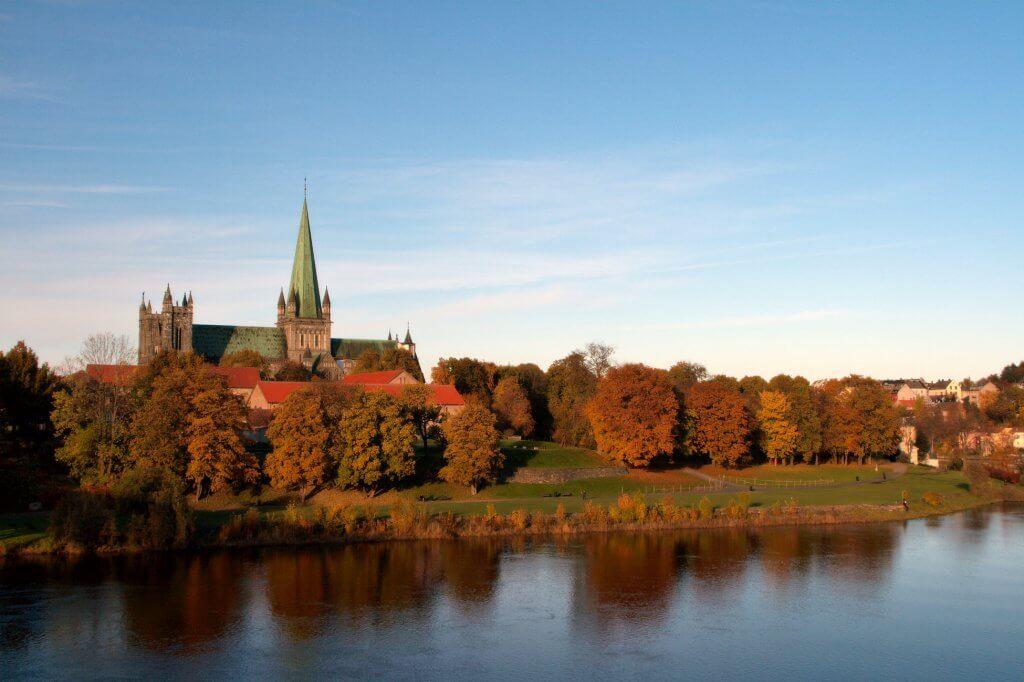 Reis naar Trondheim in Noorwegen