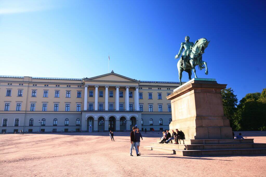 Reizen naar Oslo in Noorwegen
