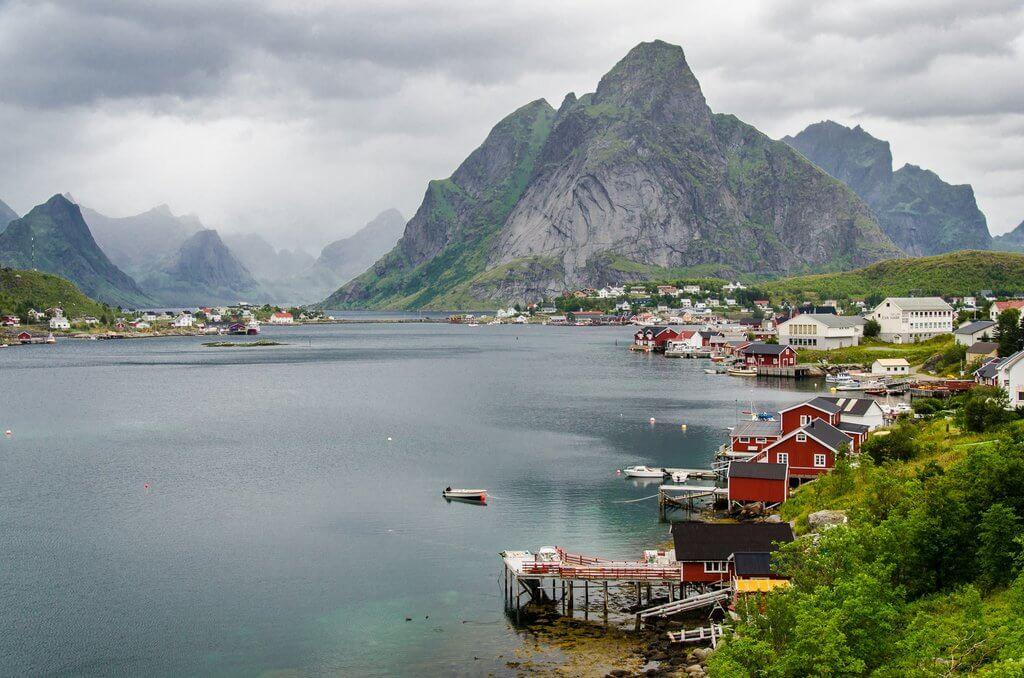 actieve groepsreis naar noorwegen - lofoten
