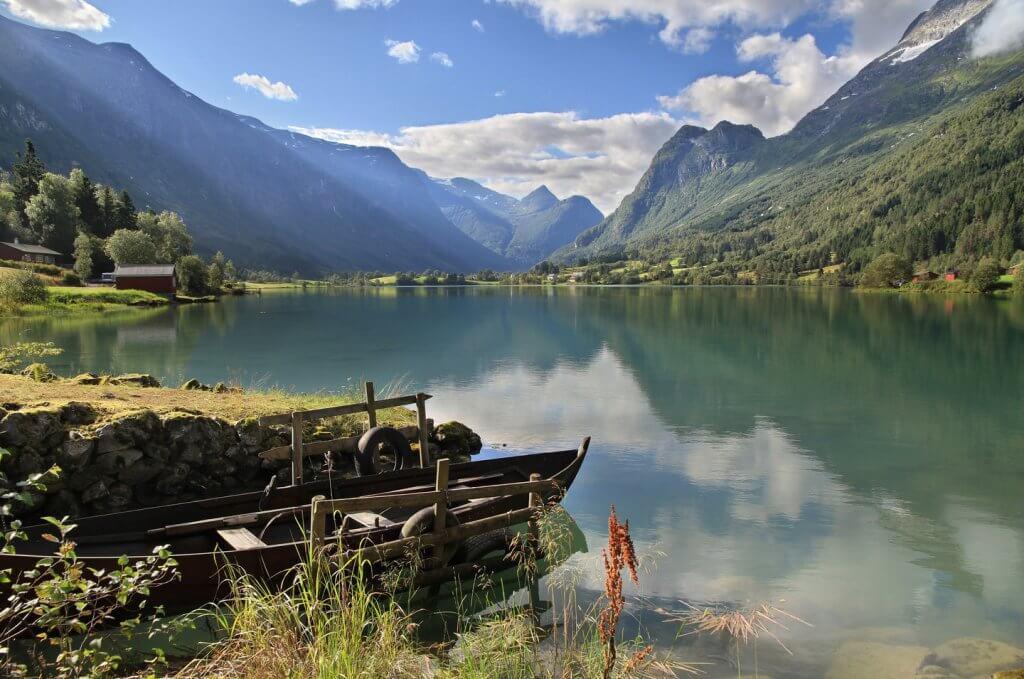 jostedalsbreen noorwegen vakantie