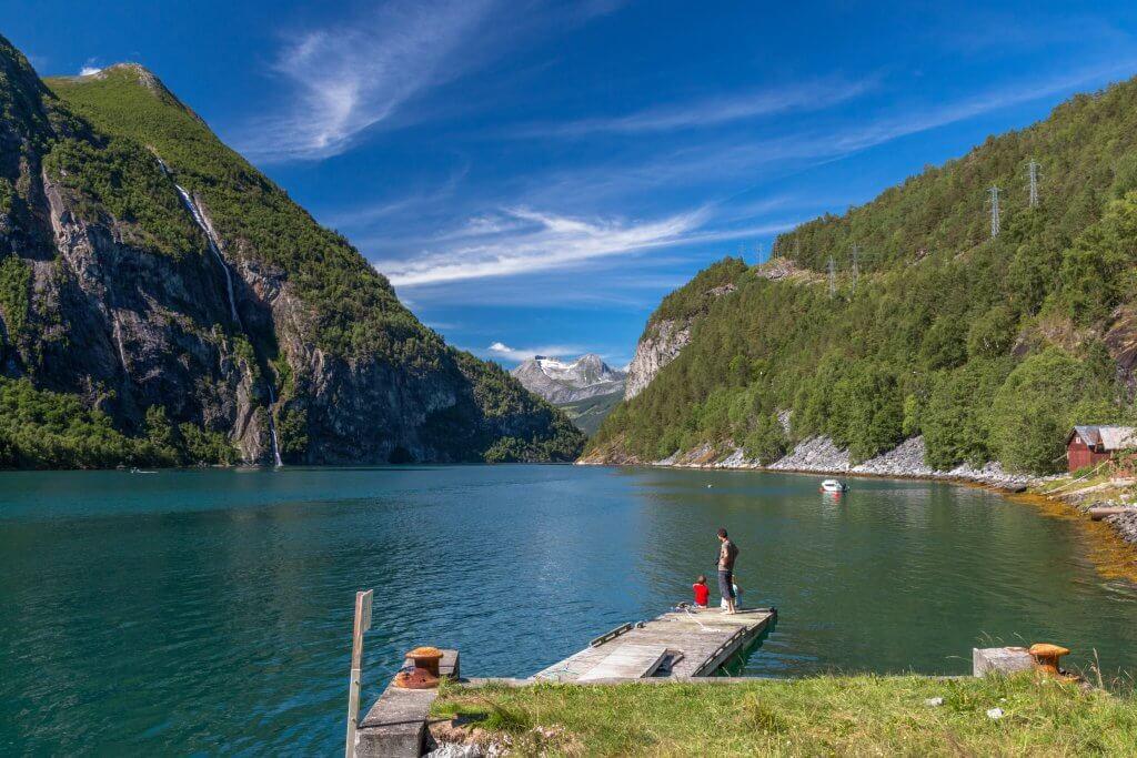 vakantie noorwegen vakantiepark tafjord