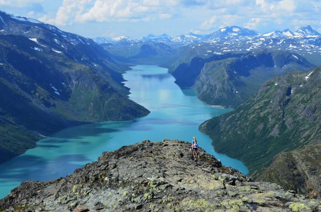 wandelen noorwegen noorse natuur