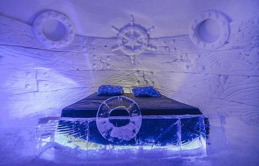 ijshotel noorwegen - kirkenes snowhotel