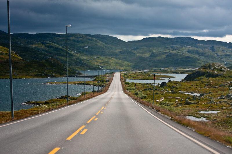 met eigen auto rondreis noorwegen