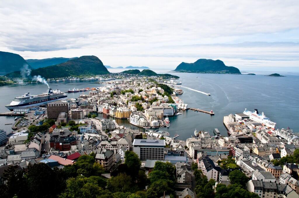vakantie alesund in noorwegen