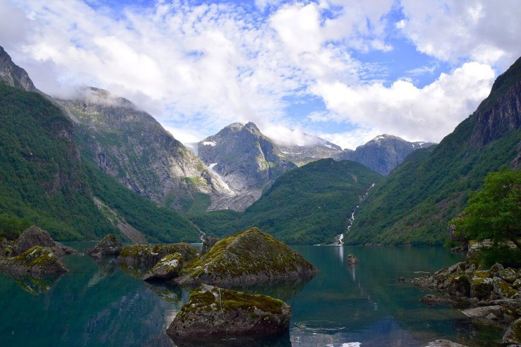actieve vakantie noorwegen - gletsjer